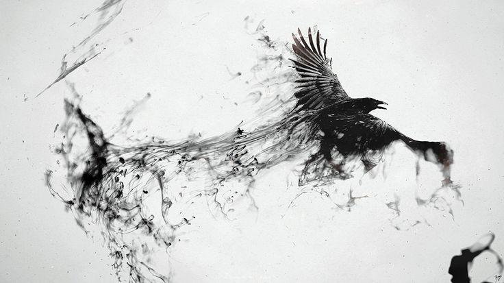 http://www.wallpapers-online.net/wp-content/uploads/2013/01/Crow-raven-flying-smoke-spray-black.jpg