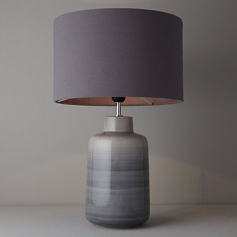 Aditi ceramic table lamp grey