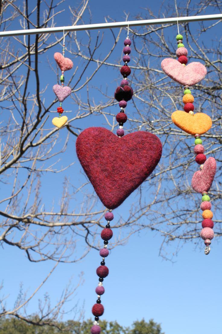 Hearts & Love ~ Felted Heart