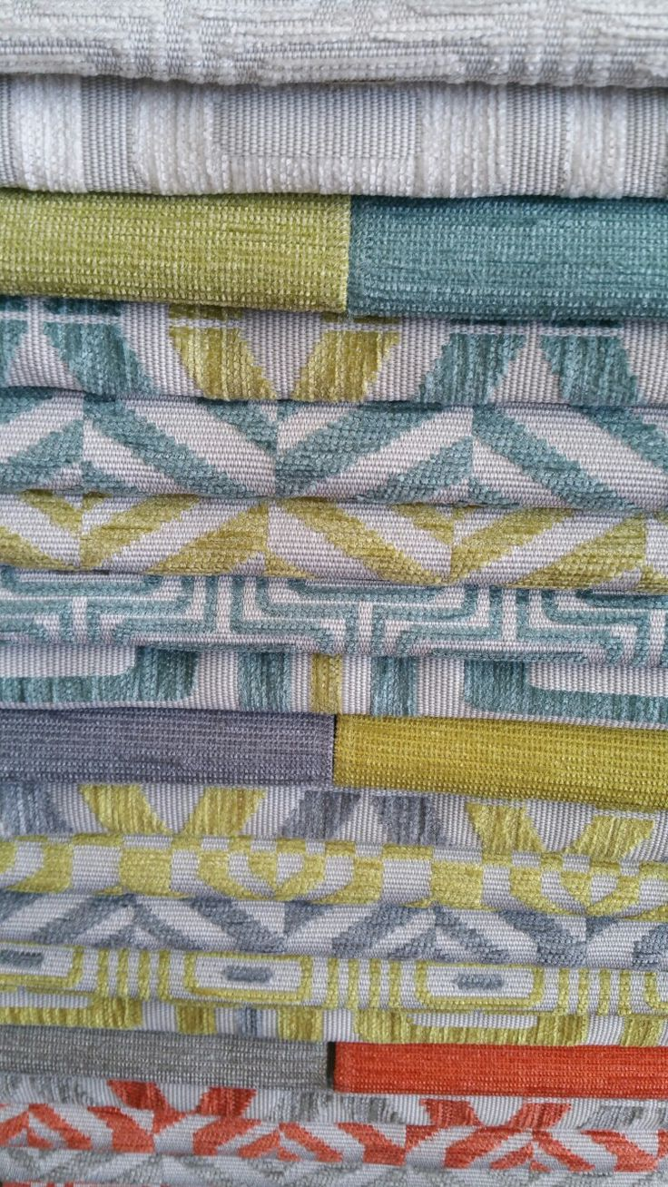 More beautiful fabrics to choose from