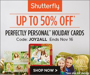 Black Friday Deals With Shutterfly Coupon Codes! Stack Codes & Save Up To 50% Plus Free Gifts! - http://www.stacyssavings.com/black-friday-deals-with-shutterfly-coupon-codes-stack-codes-save-up-to-50-plus-free-gifts/