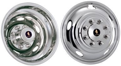 "WheelCovers.Com - 2003 - 2014 Dodge Ram 3500 Stainless Steel Wheel Simulators / Liners 17"", $239.95 (http://www.wheelcovers.com/wheel-simulators-wheel-liners/2003-2014-dodge-ram-3500-stainless-steel-wheel-simulators-liners-17/)"