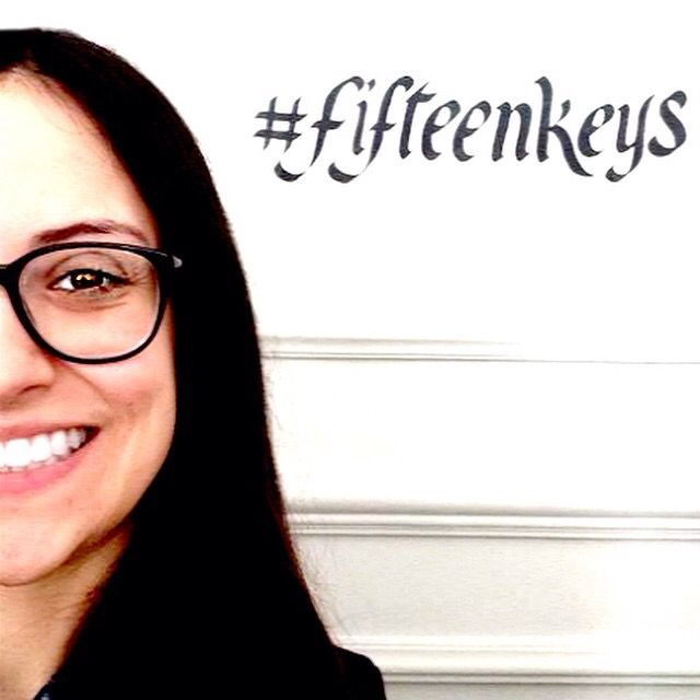 #TFKHTeam counts another member, Martina, receptionist and social media manager! Of course, she introduces herself with a #selfie with our amazing #hashtag! #thefifteenkeyshotel #fifteenkeys #rome #italy #rionemonti #reception