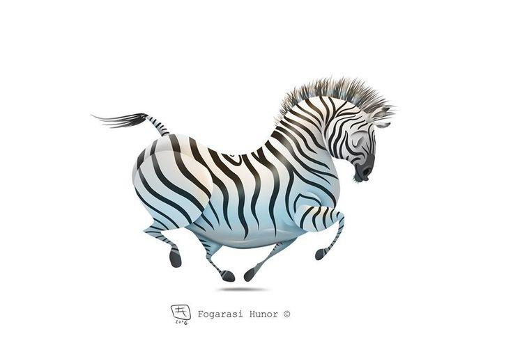 Zebra, Hunor Fogarasi on ArtStation at https://www.artstation.com/artwork/G2PaQ
