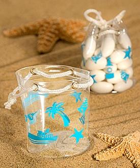 Beach Theme Mini Favor Bags