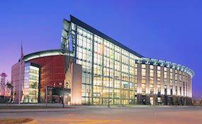 Pepsi Center - Denver, Colorado. Home of the Clorado Avalanche