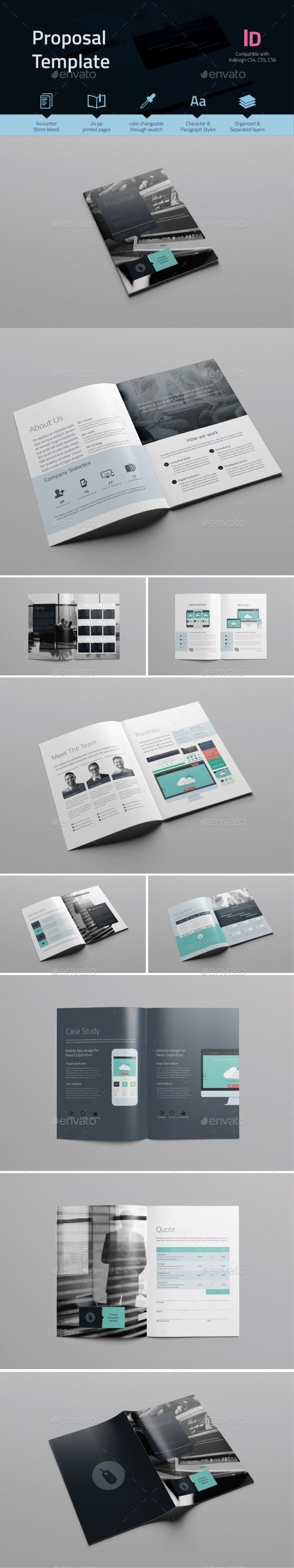 Buy Proposal Template by tontuz on GraphicRiver