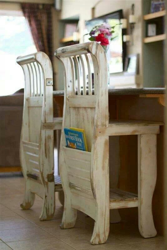 Made from old crib