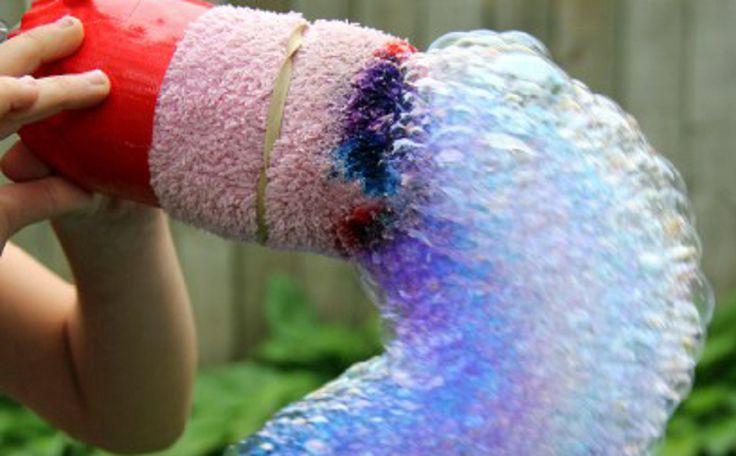 Le serpent de bulle arc-en-ciel! - Trucs et Bricolages