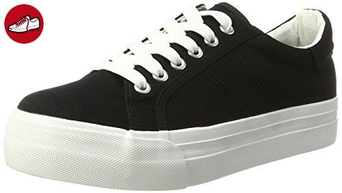 Tamaris Damen 23602 Sneakers, Schwarz (Black 001), 36 EU - Tamaris schuhe (*Partner-Link)