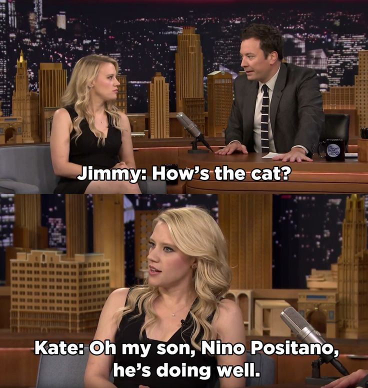 Get someone who looks at you the way Kate McKinnon looks at Nino Positano.