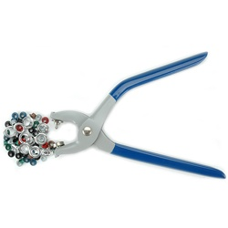 @Overstock - Sewing and craft tool kit includes pliers and eyeletsApplies small and large eyelets to create laced effects on garments and craft projectsSewing accessory is perfect for belts, shower curtains, tote bags and pillowshttp://www.overstock.com/Crafts-Sewing/Dritz-Eyelet-Pliers-Kit/3127725/product.html?CID=214117 $18.65