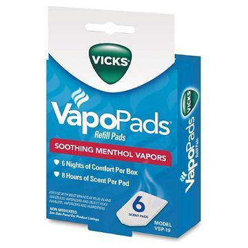 Vicks Scent Pad Replacements - White