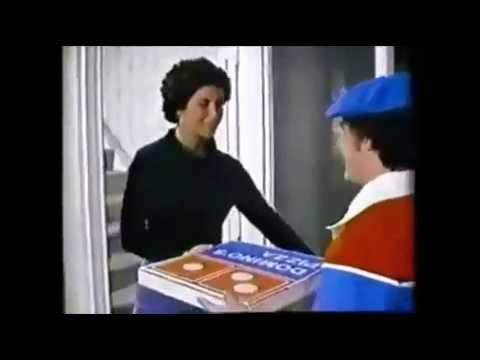 A very neat and one of the earliest ads for the popular pizza chain.