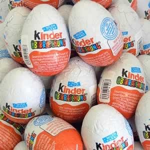 Kinder Surprise -- Need to find a way to get my hands on these for Ezra!