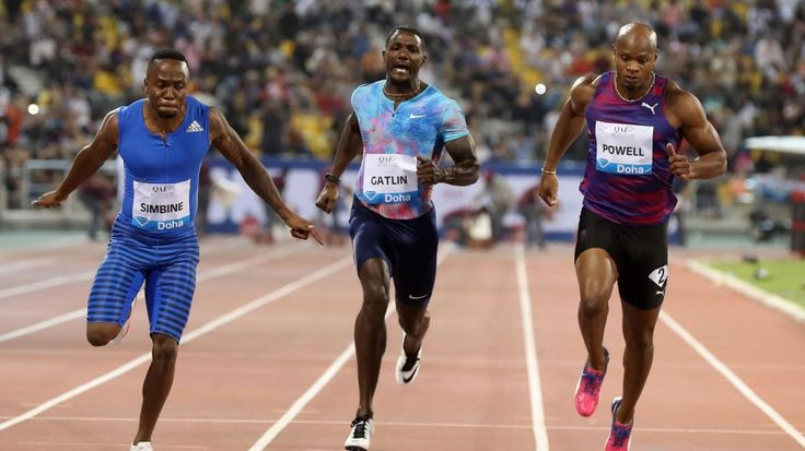 https://www.youtube.com/watch?v=unXtpkjb_uo  DOHA, QATAR    At the first round of the 2017 Diamond League, it was a star studded field. But it was the least famous man who was making waves in recent months who triumphed.  Akani Simbine(South Africa) won the 100m (9.