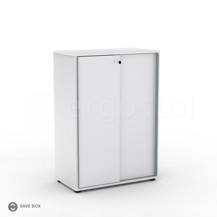 Офисный шкаф Save box с раздвижными дверцами