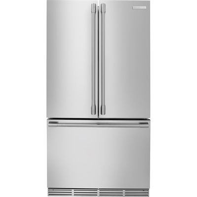 electrolux e23bc68jps icon 226cu ft french door single ice maker
