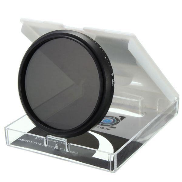 52mm to 82mm Adjustable Variable Neutral Density ND2-ND400 Lens Filter For Canon Nikon Camera