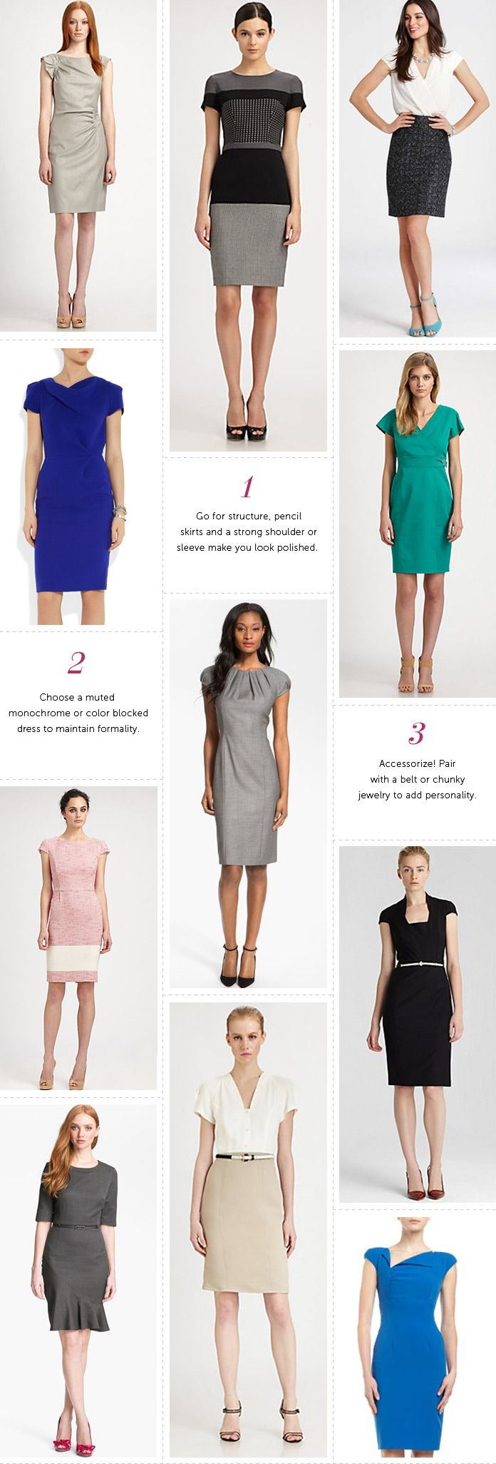 Professionelle: Power Dresses
