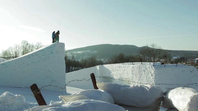 Snowporning is the new Czech snowboard movie. Porno on snow.