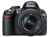 Nikon D3100 14.2MP Digital SLR Camera with 18-55mm f/3.5-5.6 AF-S DX VR Nikkor Zoom Lens  From Nikon  List Price: $649.00  Price: $549.00 & eligible for FREE Super Saver Shipping on orders over $25.