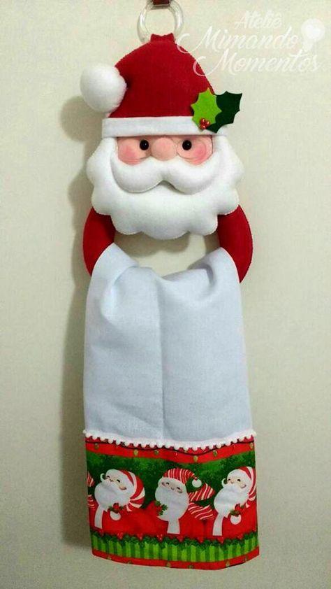 porta-panos-navideno-de-cocina-de-santa-claus