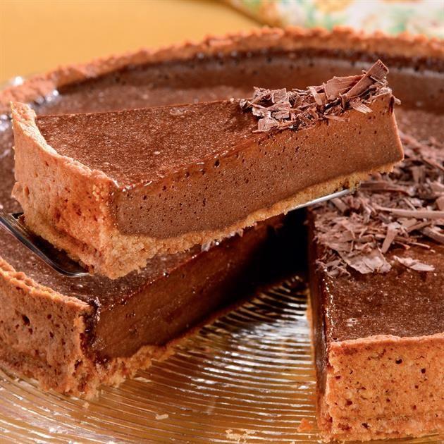Torta Chiffon De Chocolate Receita Receitas De Torta De