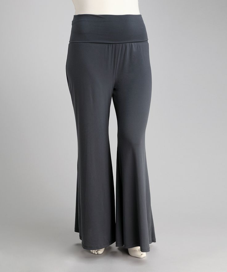 Gray Premo Pants - Plus   Daily deals for moms, babies and kids