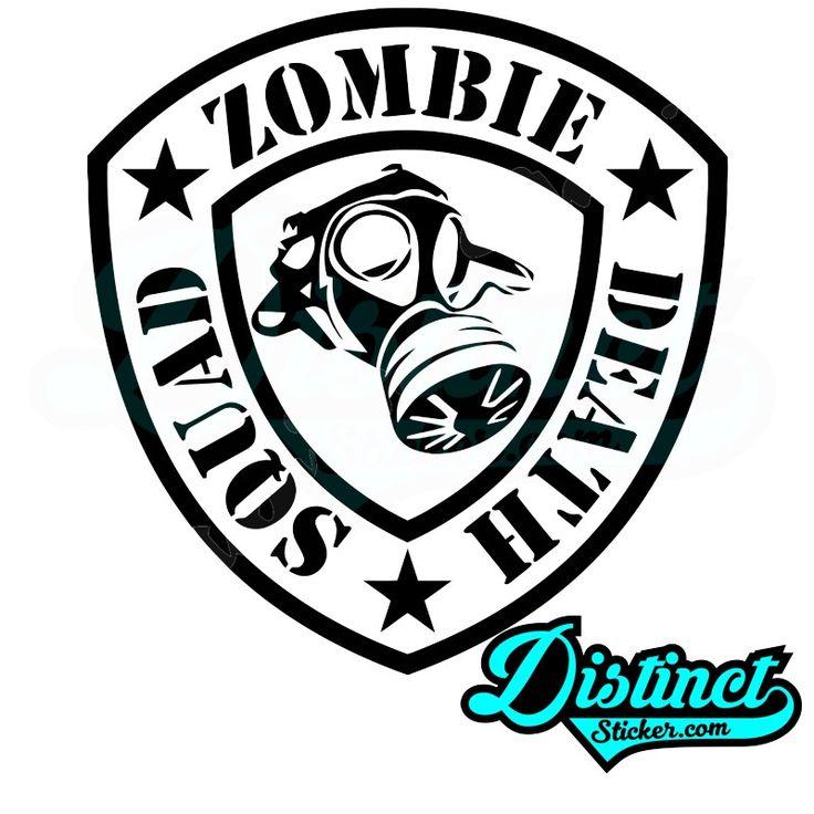 ZOMBIE DEATH SQUAD - Sticker