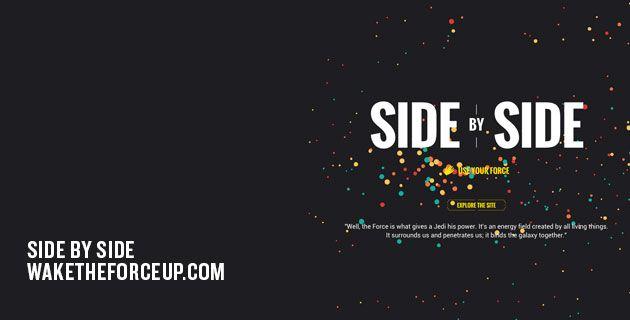 Side by Side – Star Wars