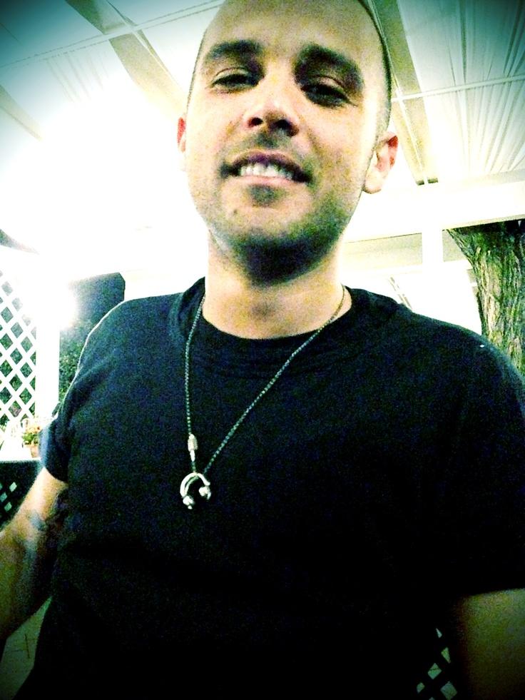 Ilario Alicante with his HD25 Headphones pendant