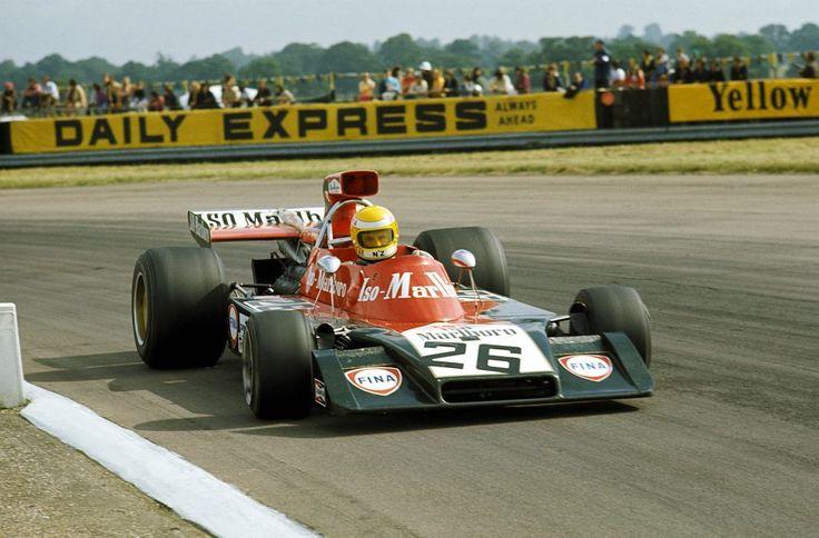 1973 Graham McRae, Frank Williams Racing Car Team, Iso Marlboro IR Ford