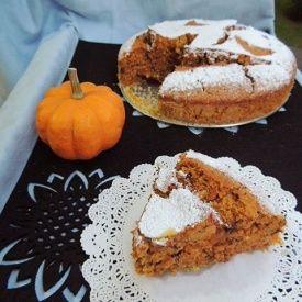 Torta di Zucca con nocciole e cioccolato. Condivisa da: http://blog.giallozafferano.it/sabry85/