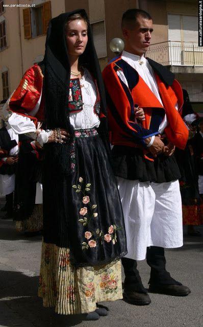 Overview of Sardinian Costume   Urzulei