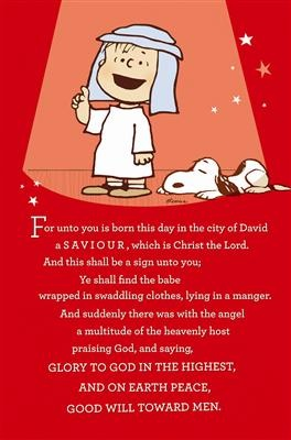 image of linus what Christmas is all about - Google Search