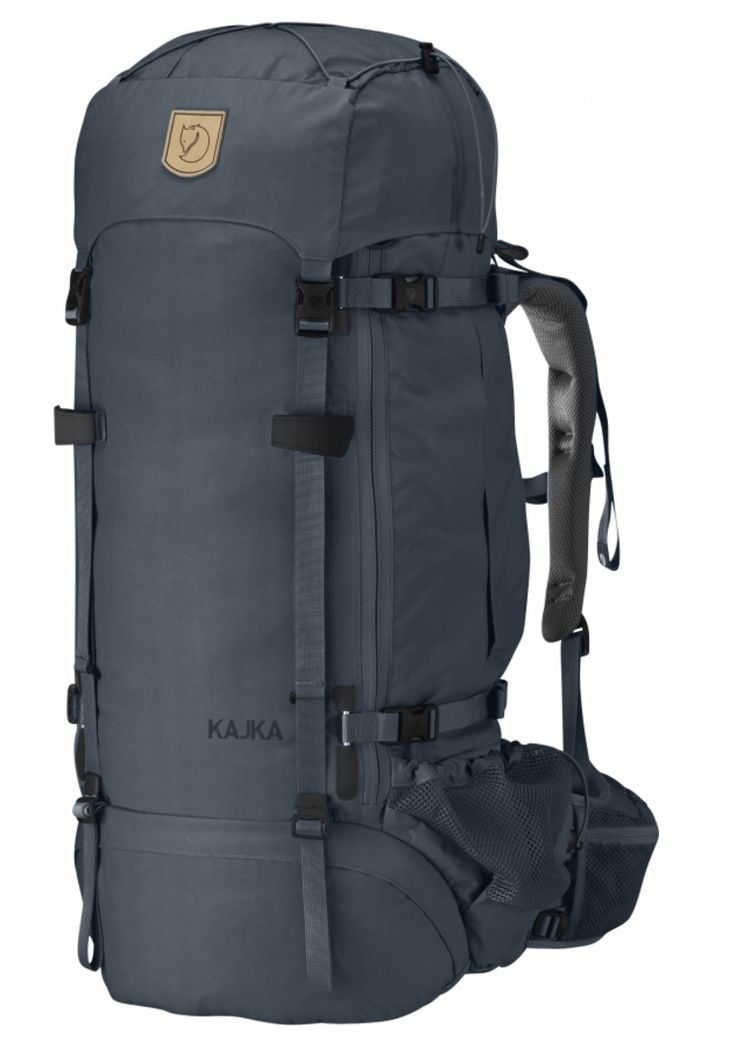 Advanced trekking backpack that is extremely comfortable to carry with smart functions. Support system with Perfect Fit adjustment and main compartment with Wet/Dry areas. Not day pack.  http://www.fjallraven.com/kajka-65
