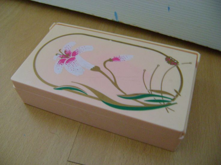 Retro kitsch jewellery box