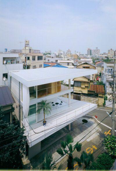 Curtain Wall House by Shigeru Ban Tokyo, Japan