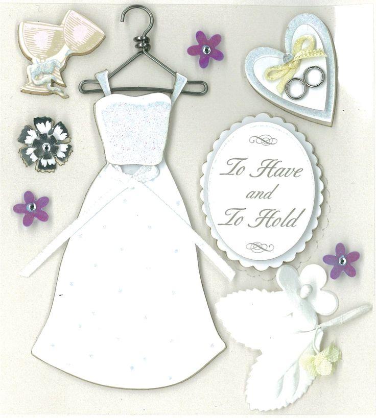 Amazon.com: K&Company Classic Wedding Grand Adhesions Stickers