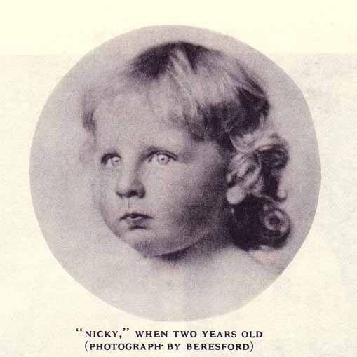 Prince Nicholas of Romania at 2.