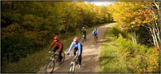 Biking across #PEI. From http://www.tourismpei.com/pei-cycling#