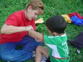 La pintura corporal como terapia de integración sensorial en niños con autismo