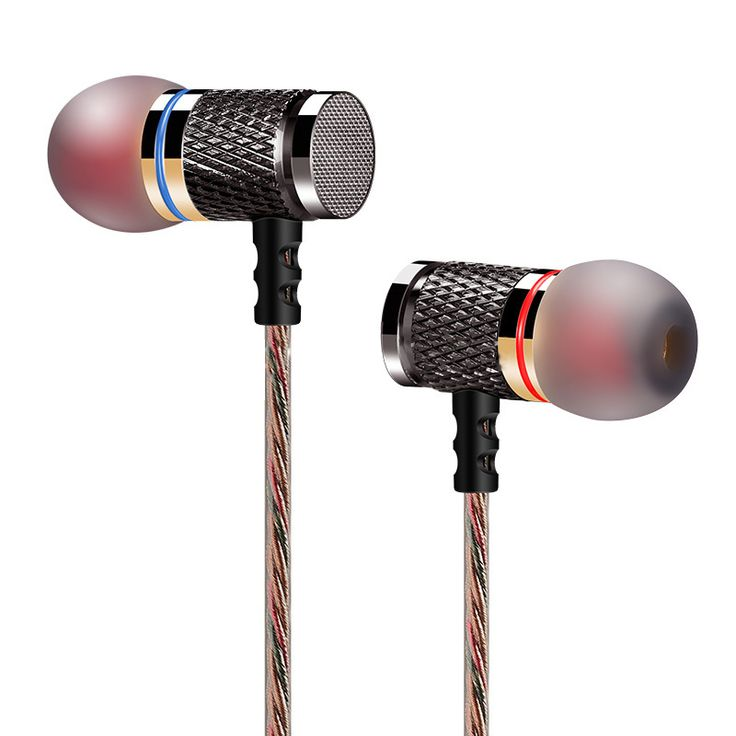 Original Design KZ ED Brand Stereo Earphone Noise Isolating Headphone Earpods Headset with Microphone for Mobile Phone Xiaomi