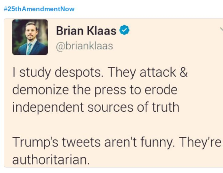 Trump supporters lack the basic ability to google despots so I'm sure this means nothing to them. Further, Repukes refuse to grow a spine and call out their #FakePresident who violates the Oath of Office DAILY by shitting on the Constitution, purposely working to erode Freedom of the Press, Freedom of Speech, Right to Peaceful Protest. Press, Speech, Protest get you jailed or beaten in Russia. PUTIN'S TOOL TRUMP AT WORK AND REPUKES SIT IDLY BY.