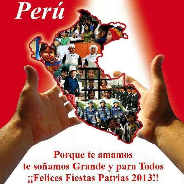 Felices Fiestas Patrias!!! #Peru