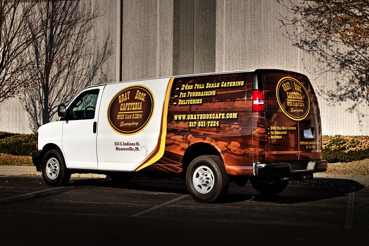 Gray Brothers Van Wrap. Van wrap, Van, Brother