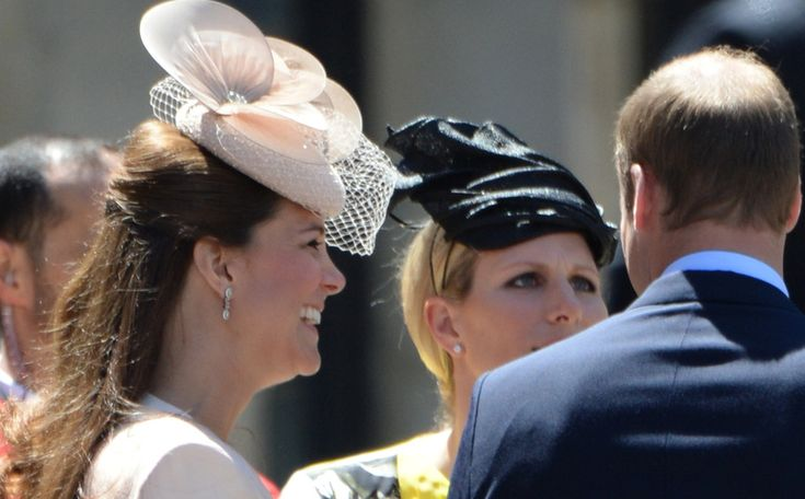 kate middleton and zara phillips relationship with the queen