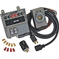 Reliance Transfer Switch Kit — 6 Circuit, Model# 31406CRK