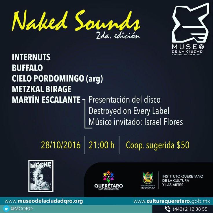 Cielo Pordomingo en Concierto - #NakedSounds #Queretaro #Qro #Mexico #CieloPordomingo #GiradeConciertos